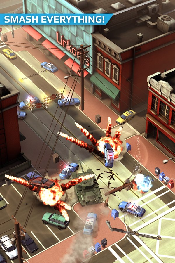 Скачать взломанный Smash Bandits Racing мод много денег на андроид