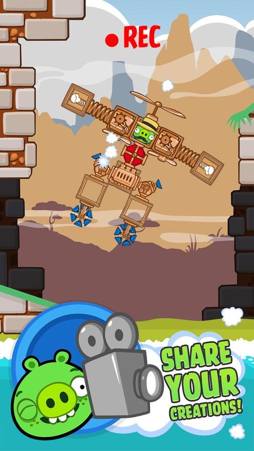 Скачать Bad Piggies на андроид