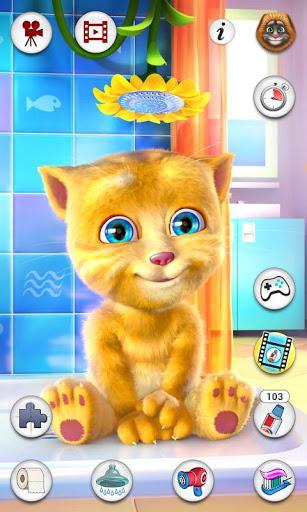Скачать Talking Ginger (Говорящий Рыжик) на Андроид