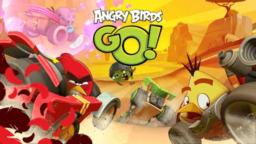 Скачать Angry Birds Go! на андроид