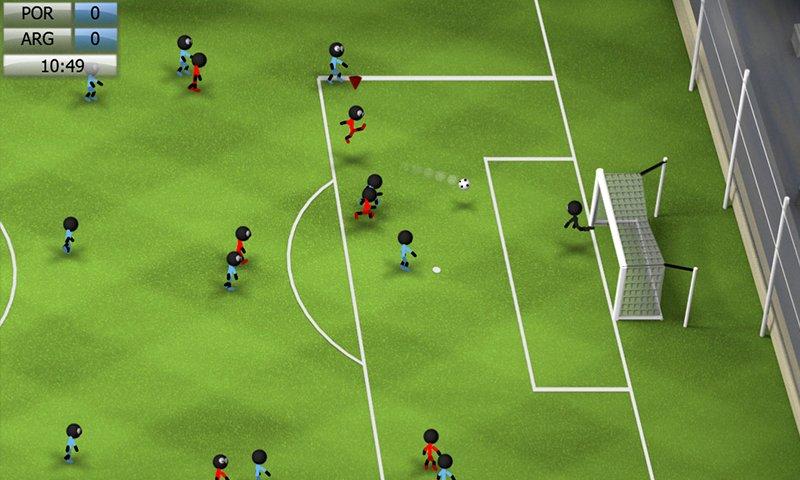Скачать Stickman Soccer 2014 на андроид