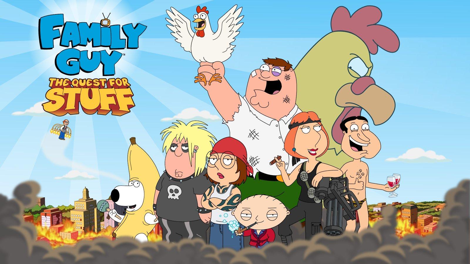 Скачать Family Guy: В Поисках Всякого на андроид