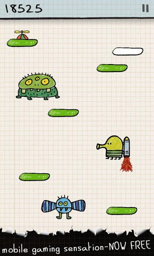 Скачать Doodle Jump на андроид