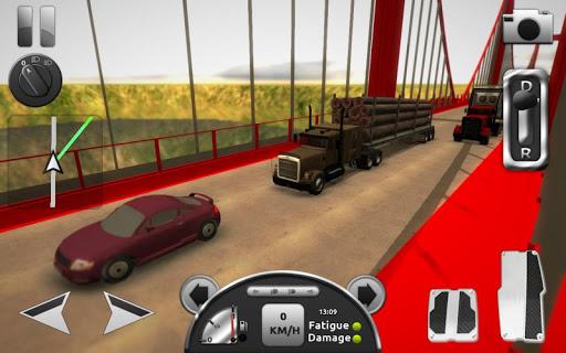 Скачать взломанный Truck Simulator 3D мод много денег на андроид