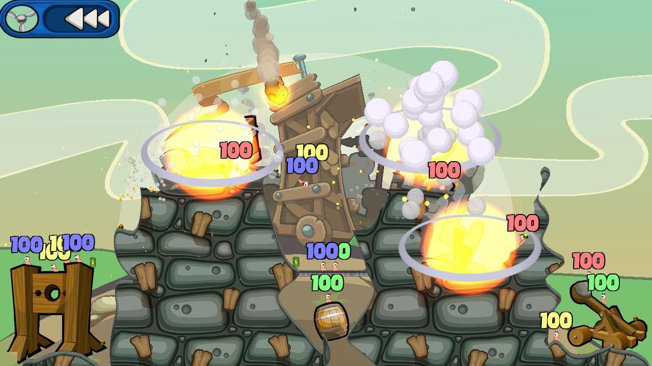 Скачать взломанный Worms 2: Armageddon мод много денег на андроид