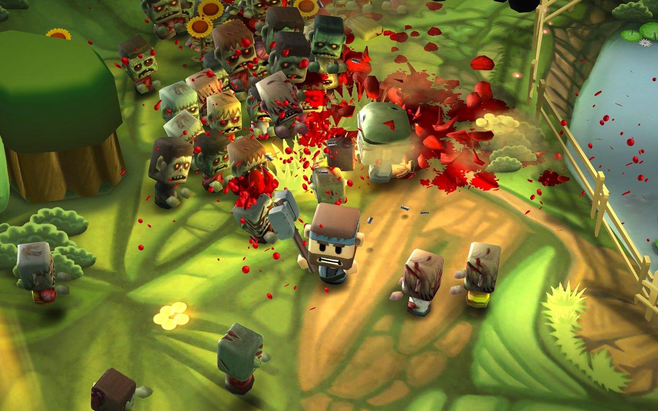 Скачать взломанный Minigore 2: Zombies мод много денег на андроид