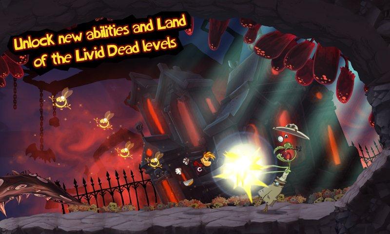 Скачать Rayman Jungle Run на андроид