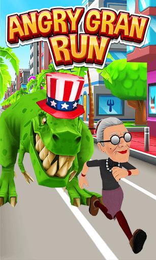 Скачать взломанную Angry Gran Run мод много денег на андроид