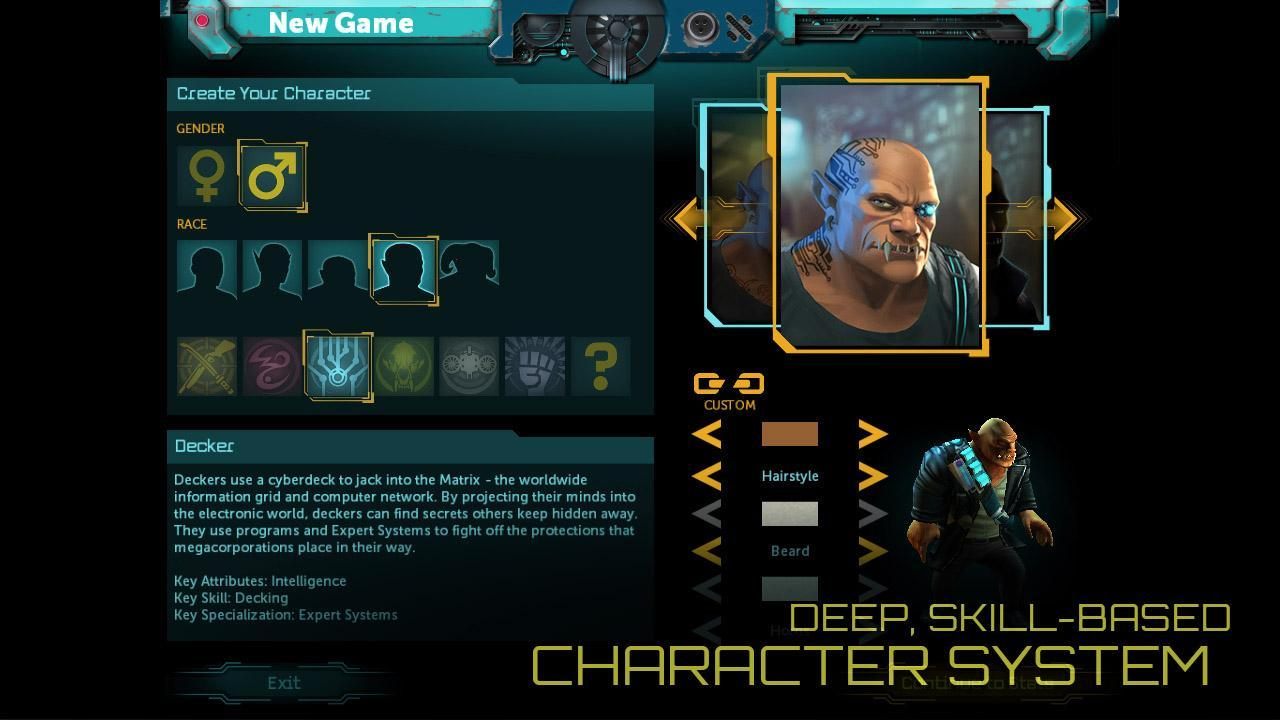 Скачать Shadowrun Returns на андроид
